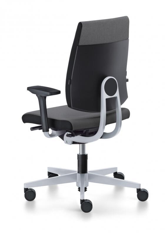 b rostuhl sedus black dot mit mittlerer r ckenlehne bd 102. Black Bedroom Furniture Sets. Home Design Ideas