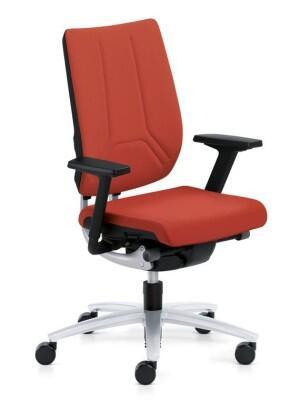 b rostuhl sedus swing up r ckenlehne mit flachpolster. Black Bedroom Furniture Sets. Home Design Ideas