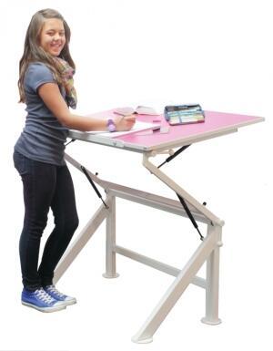 Der Lewico Zippo Kann Als Schreibtisch Und Als Stehpult Genutz Werden