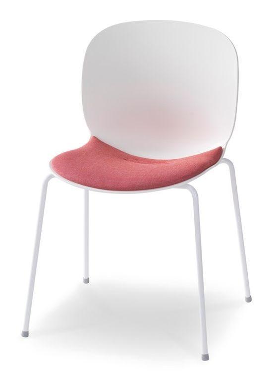 besucherstuhl rbm noor 6050s mit sitzpolster. Black Bedroom Furniture Sets. Home Design Ideas