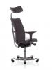 Bürostuhl HAG H05 5600 mit Kopfstütze, vollständig gepolstert