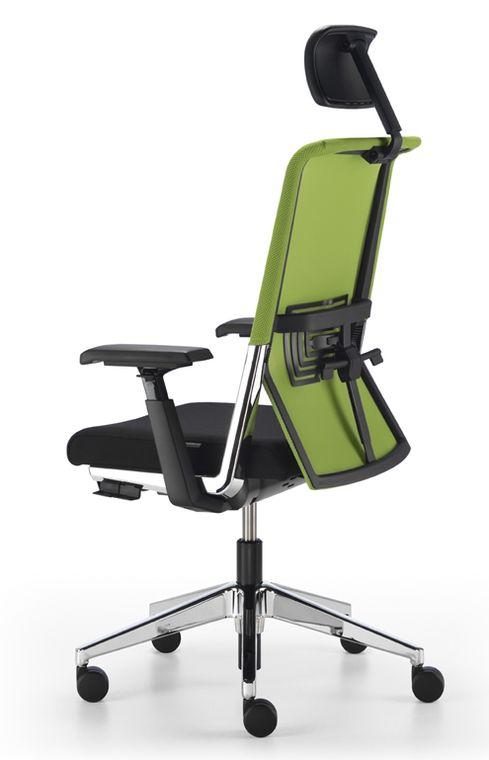 b rostuhl haworth comforto 5901 mit netzr cken und. Black Bedroom Furniture Sets. Home Design Ideas