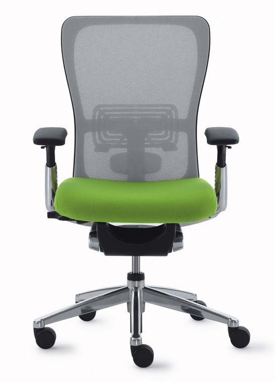 Bürostuhl HAWORTH Comforto 89 Verfügt über Eine Ergonomisch Vorgeformte  Sitzfläche