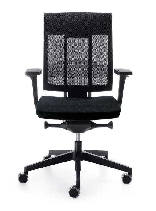 b rostuhl profim xenon net mit verstellbarer lordosenst tze. Black Bedroom Furniture Sets. Home Design Ideas