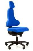 Bürostuhl RBM 768 mit hoher Rückenlehne und Kopfstütze