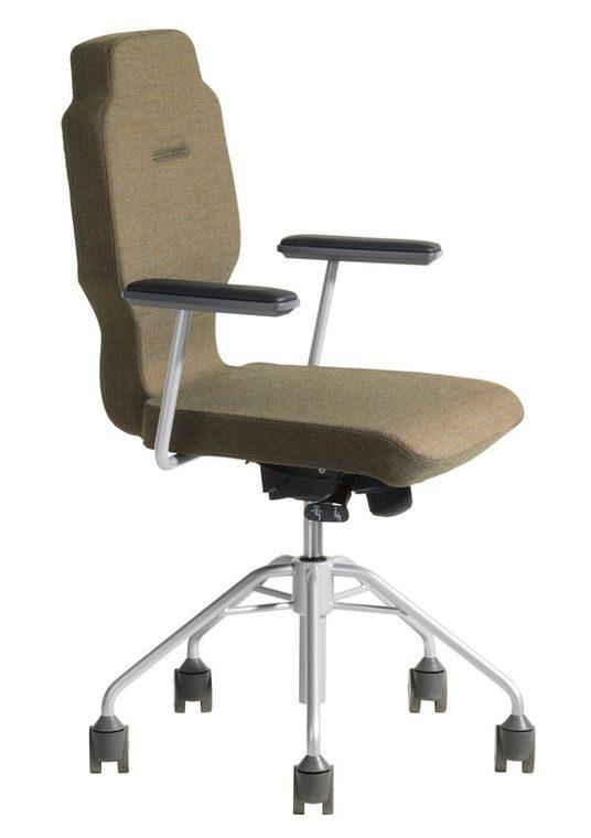 b rostuhl rh session 5436 mit rollen und armlehnen. Black Bedroom Furniture Sets. Home Design Ideas